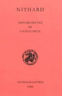 Histoire des fils de Louis le Pieux