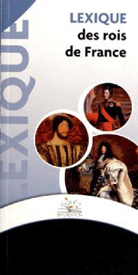 Lexique des rois de France