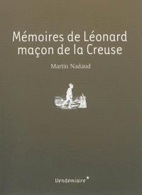 Mémoires de Léonard, maçon de la Creuse