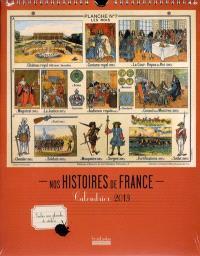 Nos histoires de France : calendrier 2013