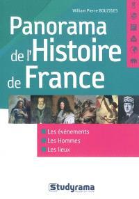 Panorama de l'histoire de France : les événements, les hommes, les lieux