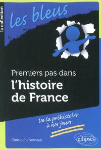 Premiers pas dans l'histoire de France : de la préhistoire à nos jours