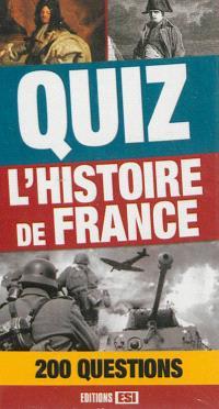 Quiz l'histoire de France : 200 questions