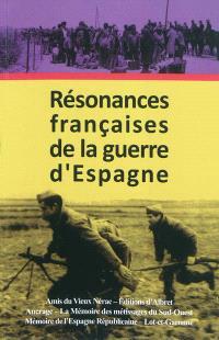 Résonances françaises de la guerre d'Espagne