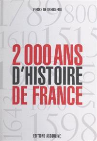 2.000 ans d'histoire de France : l'histoire au galop