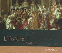 Calendrier 2012 de l'histoire de France : 52 magnifiques photographies pour revivre les grands moments de notre histoire
