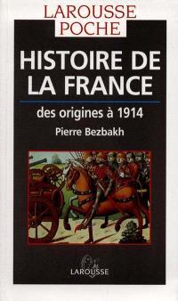Histoire de la France : des origines à 1914
