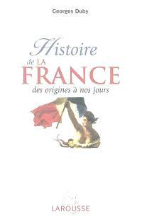 Histoire de la France, des origines à nos jours