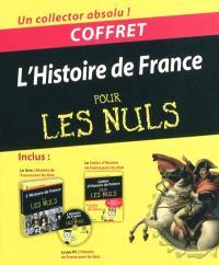 L'histoire de France pour les nuls : coffret