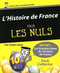 L'histoire de France pour les nuls : pack collector
