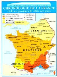Chronologie de la France et de ses provinces de -900 à nos jours
