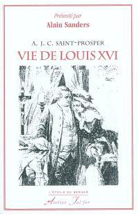 Vie de Louis XVI