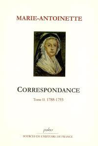 Correspondance. Volume 2, 1788-1793