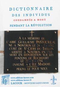 Dictionnaire des individus condamnés à mort pendant la Révolution
