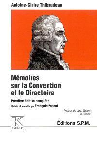 Mémoires sur la Convention et le Directoire
