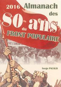 Almanach des 80 ans du Front populaire : 2016