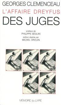 L'affaire Dreyfus. Volume 4, Des juges