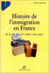 Histoire de l'immigration en France, de la fin du XIXe siècle à nos jours