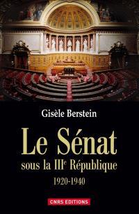 Le Sénat sous la IIIe République : 1920-1940