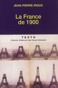 La France de 1900