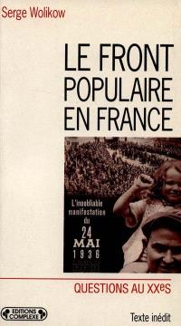 Le Front populaire en France