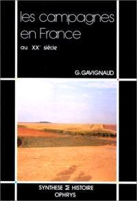 Les Campagnes en France au XXe siècle : 1914-1989