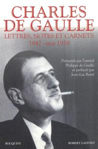 Lettres, notes et carnets. Volume 2, 1942-mai 1958