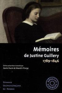 Mémoires de Justine Guillery, 1789-1846