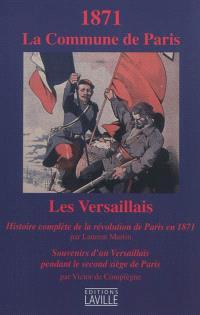 1871, la Commune de Paris : les Versaillais