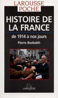 Histoire de la France : de 1914 à nos jours