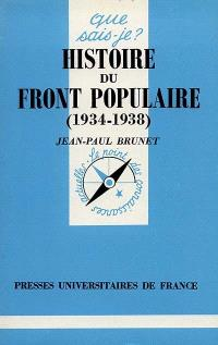 Histoire du Front populaire : 1934-1938