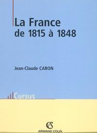La France de 1815 à 1848