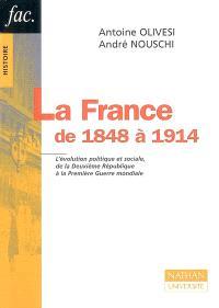 La France de 1848 à 1914 : l'évolution politique et sociale, de la Deuxième République à la Première Guerre mondiale