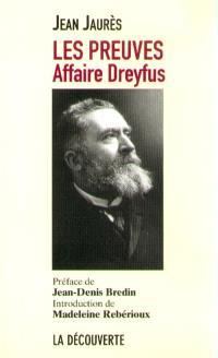 Les preuves : affaire Dreyfus