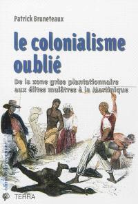 Le colonialisme oublié : de la zone grise plantationnaire aux élites mulâtres à la Martinique