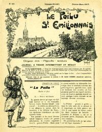 Le poilu saint-émilionnais : journal de tranchées