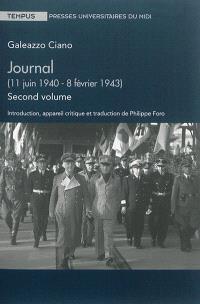 Journal. Volume 2, 11 juin 1940-8 février 1943