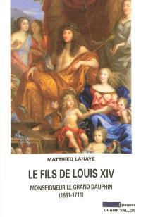 Le fils de Louis XIV : Monseigneur le Grand Dauphin, 1661-1711