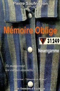 Mémoire oblige