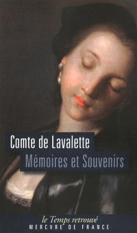 Mémoires et souvenirs du comte de Lavalette