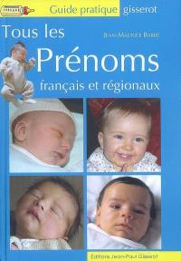 Tous les prénoms français et régionaux