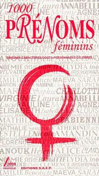 1000 prénoms féminins