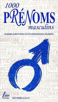 1000 prénoms masculins