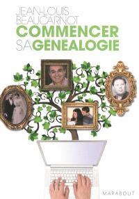 Commencer votre généalogie