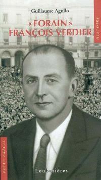 Forain François Verdier