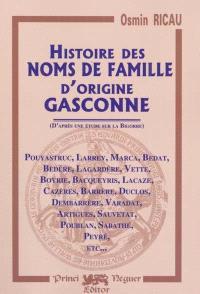 Histoire des noms de famille d'origine gascogne (l'exemple de la Bigorre)