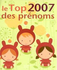 Le top des prénoms 2007