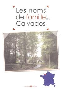 Les noms de famille du Calvados