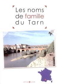 Les noms de famille du Tarn