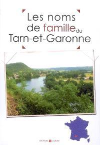 Les noms de famille du Tarn-et-Garonne